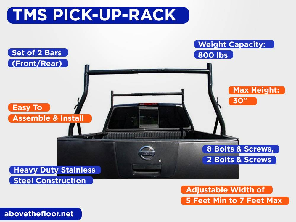 TMS PICK-UP-RACK Review, Pros and Cons