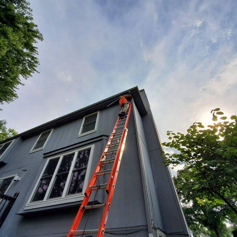 Type of extension ladder