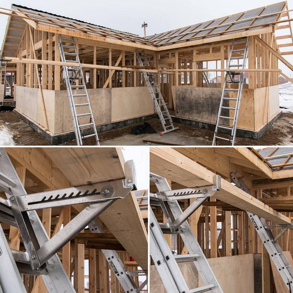 Use Ladder Jack Scaffolding