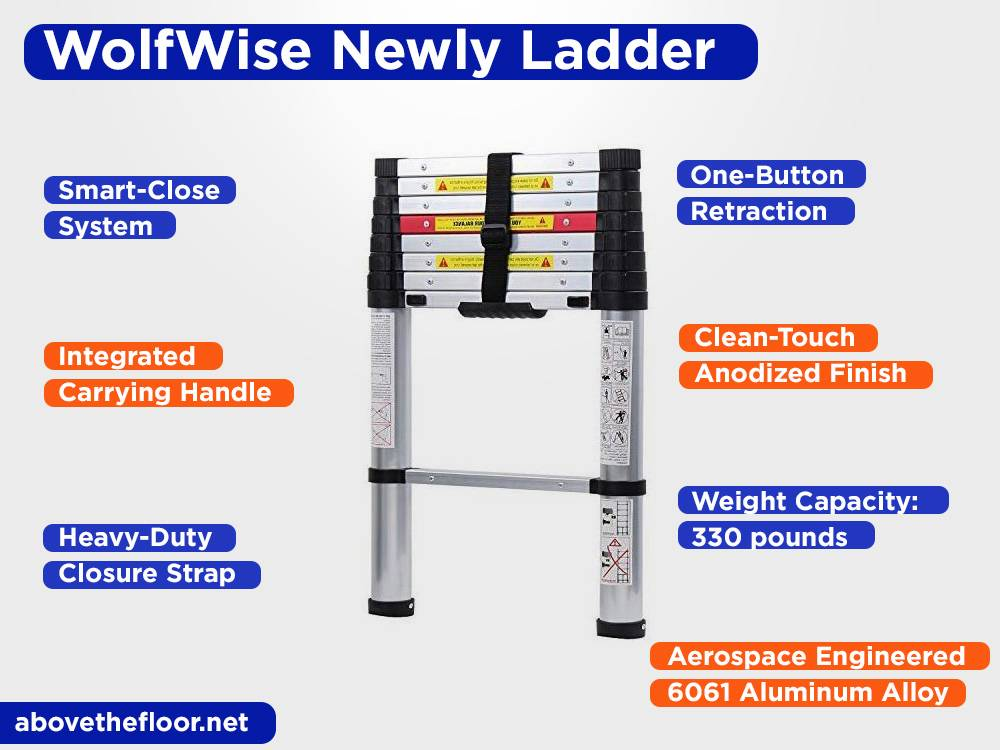 WolfWise Newly Telescopic Ladder Review, Pros and Cons