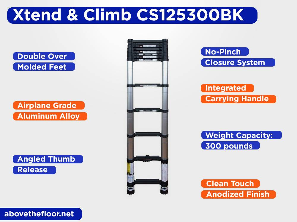 Xtend & Climb CS125300BK Review, Pros and Cons