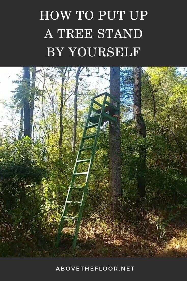 How to Put up a Tree Stand by Yourself
